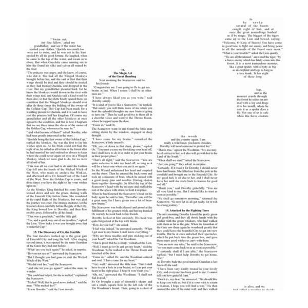 Knižný plagát Čarodejník zo zeme Oz/Title, 50x70 cm
