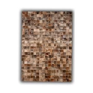 Koberec z pravej kože Blesbok, 140x200 cm
