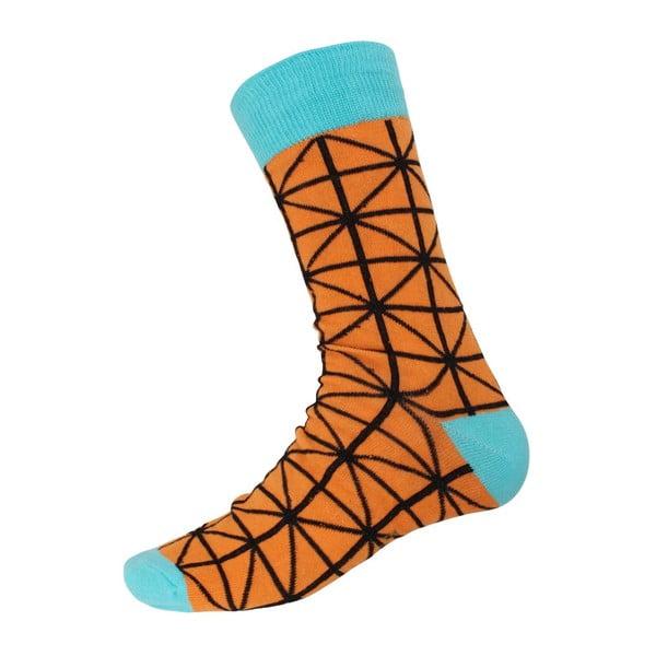 Ponožky Blue Ornament, veľkosť 40-44