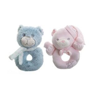 Sada 2 detských pomôcok na hrýzanie Unimasa Bears