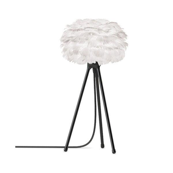 Biele svietidlo z husieho peria VITA Copenhagen EOS, Ø 16 cm