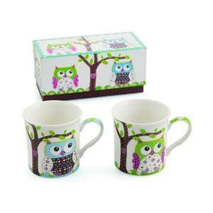 Set 2 hrnčekov Teatime Owl