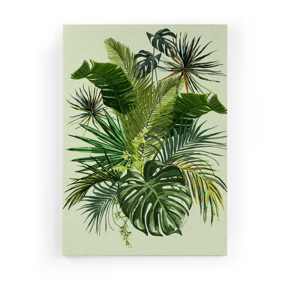 Obraz na plátne Really Nice Things Tropical, 50 × 70 cm