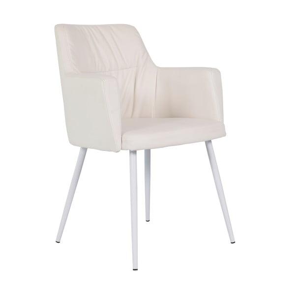 Krémová jedálenská stolička RGE Mars