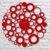 Nástenné hodiny Red Bubble