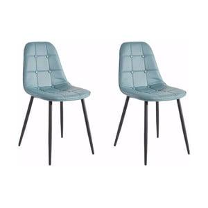 Sada 2 modrých stoličiek Støraa Lamar