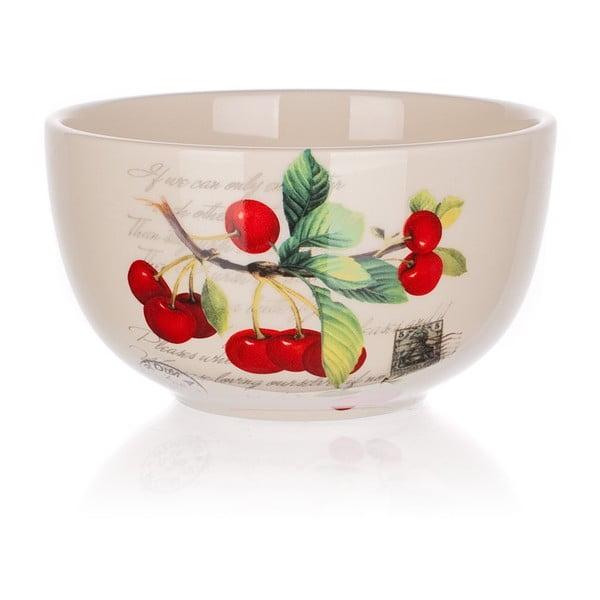 Keramická miska Banquet Cherry, 12,5 cm