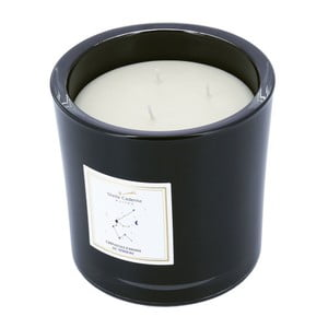 Vonná sviečka v čiernom skle s vôňou čokolády a medu Stella Cadente Vodnář