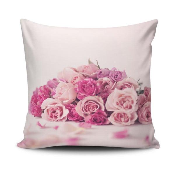 Obliečka na vankúš s prímesou bavlny Cushion Love Nelo, 45 × 45 cm