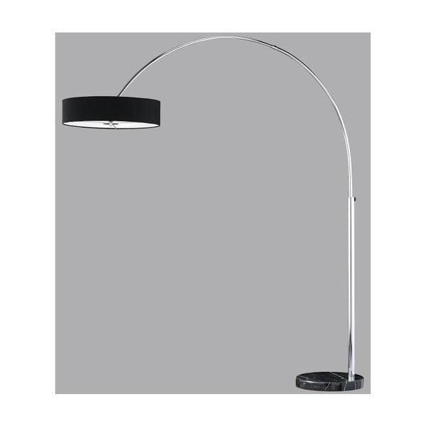 Stojacia lampa Trio Serie 205 cm, čierna