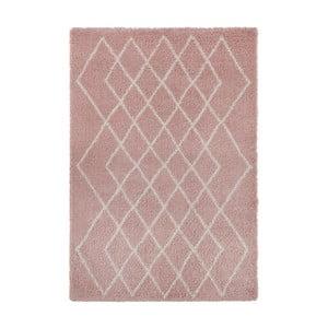 Ružovo-krémový koberec Mint Rugs Allure, 120 × 170 cm