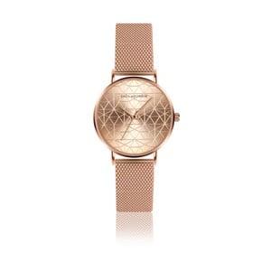 Dámske hodinky s remienkom z antikoro ocele vo farbe ružového zlata Emily Westwood Sophia
