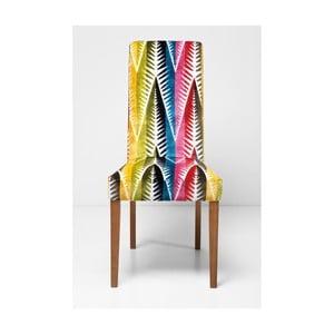 Čalúnená jedálenská stolička Kare Design Econo Slim Palm Leaf