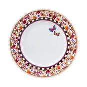 Porcelánový plytký tanier Melli Mello Isabelle, 26.5 cm