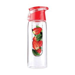 Fľaša Flavour It 2 Go, červená
