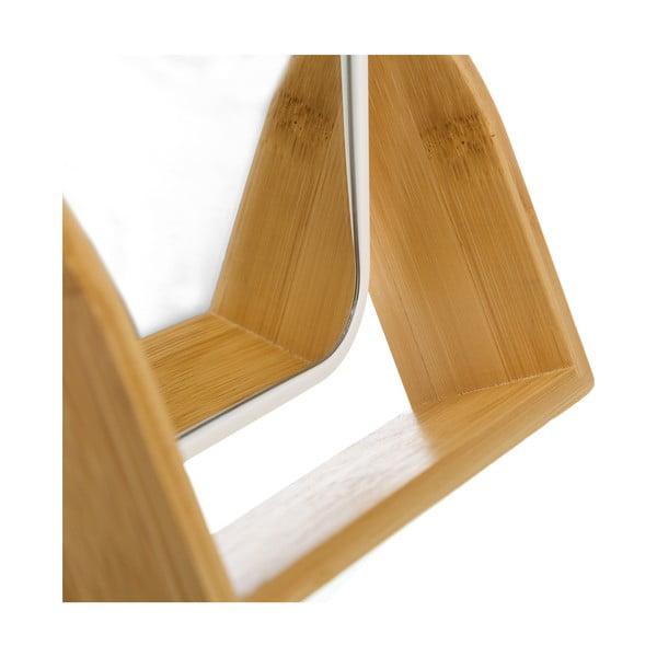 Dvojité zrkadlo s bambusovým rámom Unimasa