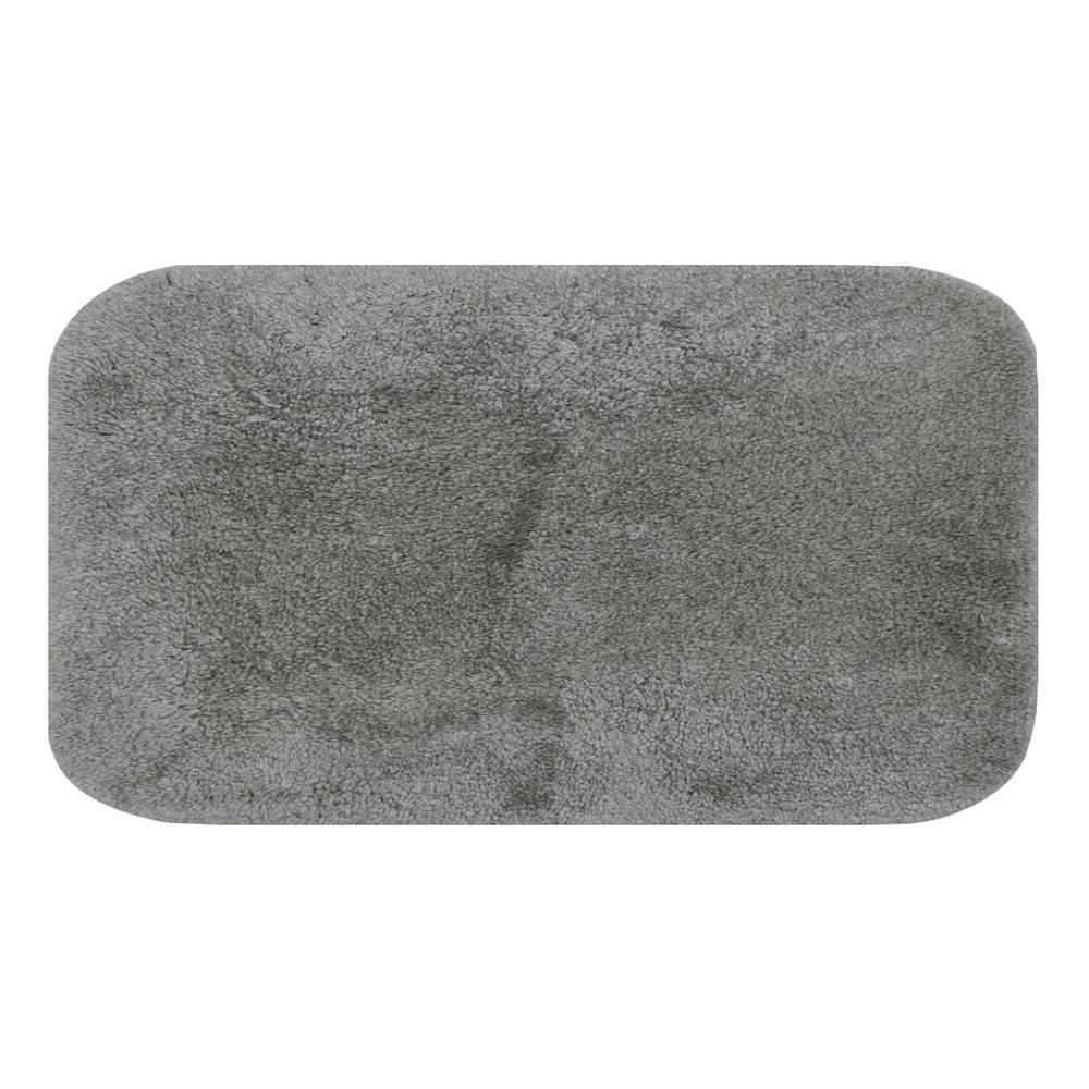 Sivá predložka do kúpeľne Confetti Miami, 80 × 140 cm