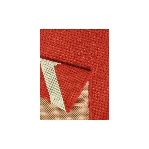 Kuchynský koberec Milk&Coffee 80x200 cm, červený