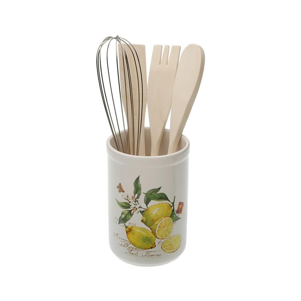 Keramická dóza na kuchynské nástroje Versa Lemons