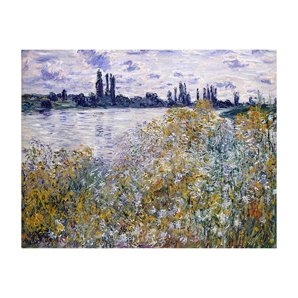Obraz Claude Monet - Île aux Fleurs near Vétheuil, 50x40 cm