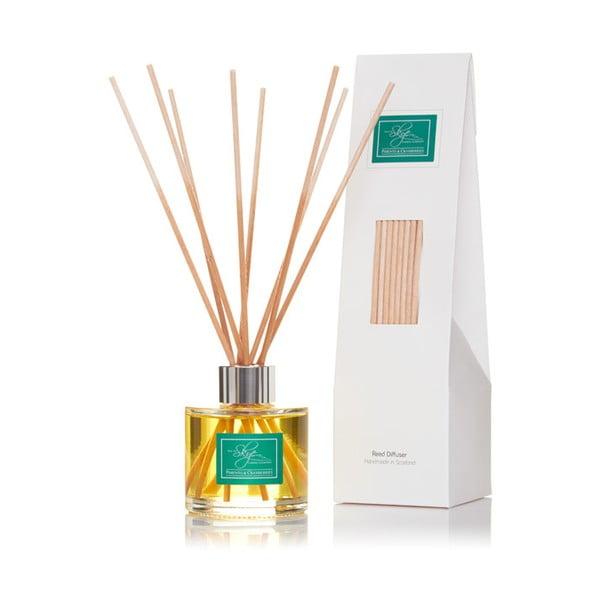 Difuzér s vôňou bobuľového ovocia, jamajského korenia a klinčeka Skye Candles, dĺžka intenzity vône 8 týždňov