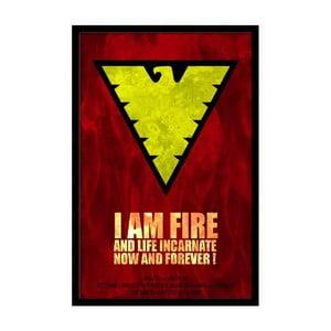 Plagát I Am Fire, 35x30 cm