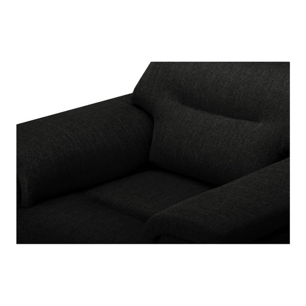 Čierne kreslo Stella Cadente Maison Madeiro