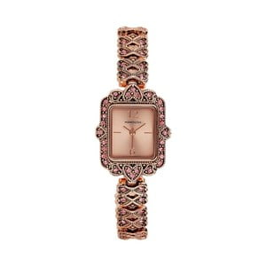 Dámske hodinky vo farbe ružového zlata Manoush Sapphire