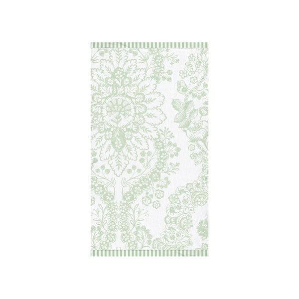 Osuška Pip Studio Lacy Dutch, 70x140 cm, zelená