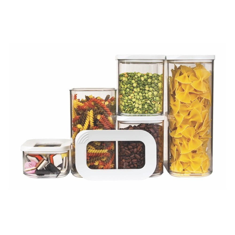 Set 5 úložných boxov na potraviny Rosti Mepal Modula Starter