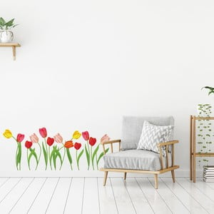 Sada samolepiek na stenu Ambiance Wild Tulips