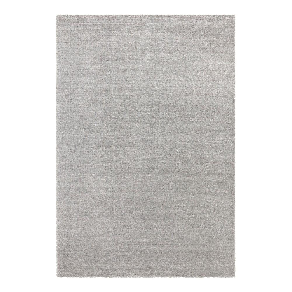 Svetlosivý koberec Elle Decor Glow Loos, 80 x 150 cm