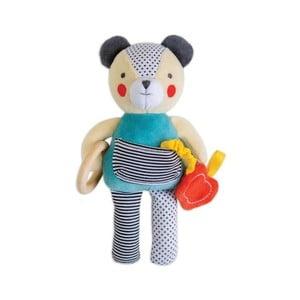 Hračka podporujúca rozvoj poznávacích vlastností Petit collage Bear