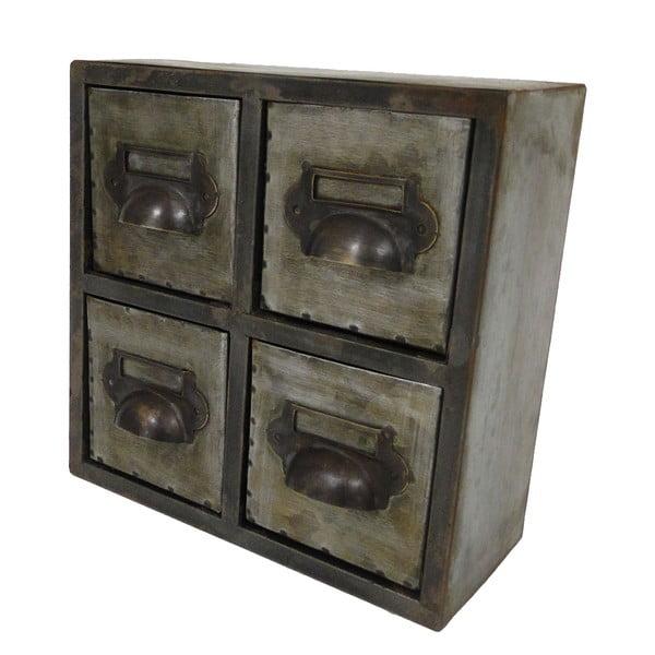Kovové zásuvky Zinc