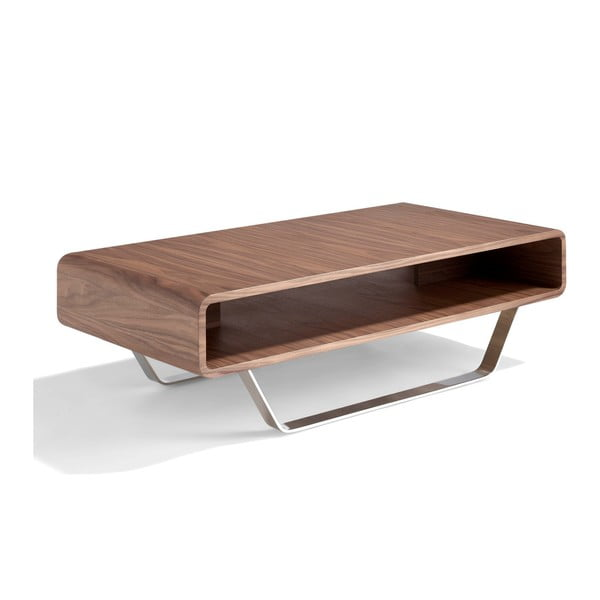 Konferenčný stolík z orechového dreva Ángel Cerdá Willie