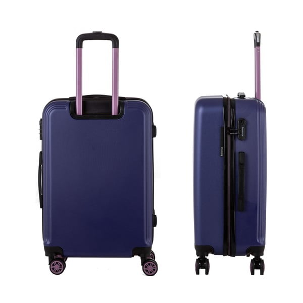 Sada 3 modrých cestovných kufrov Berenice Wingy