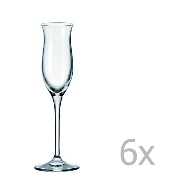 Sada 6 pohárov na pálenku LEONARDO Cheers Bar, 90 ml