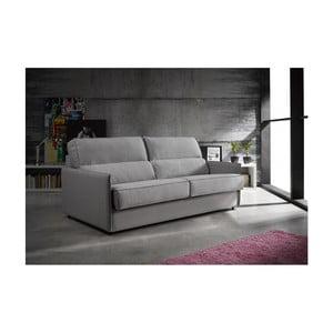 Sivá rozkladacia pohovka Suinta Reyes, šírka 194 cm