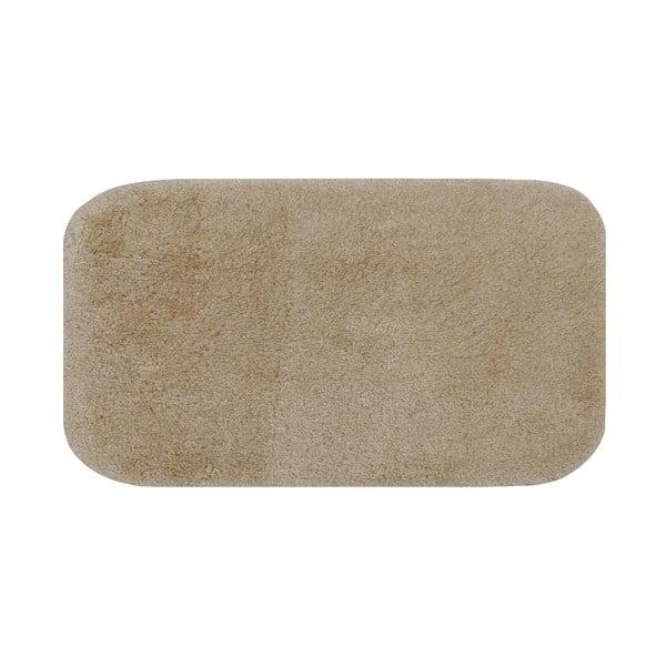 Tmavobéžová predložka do kúpeľne Confetti Miami, 57×100cm