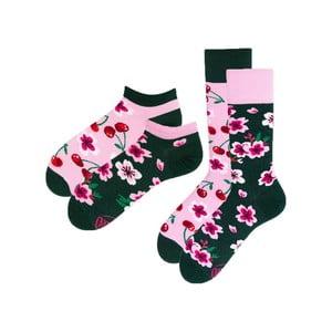 Sada 2 párov klasických a členkových ponožiek Many Mornings Blossom, veľ. 35-38
