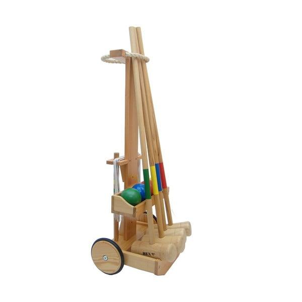 Sada na kroket Crocquet Original s vozíčkom