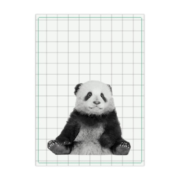 Kuchynská utierka PT LIVING Panda, 50×70 cm