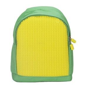 Detský batoh Pixelbag green/yellow