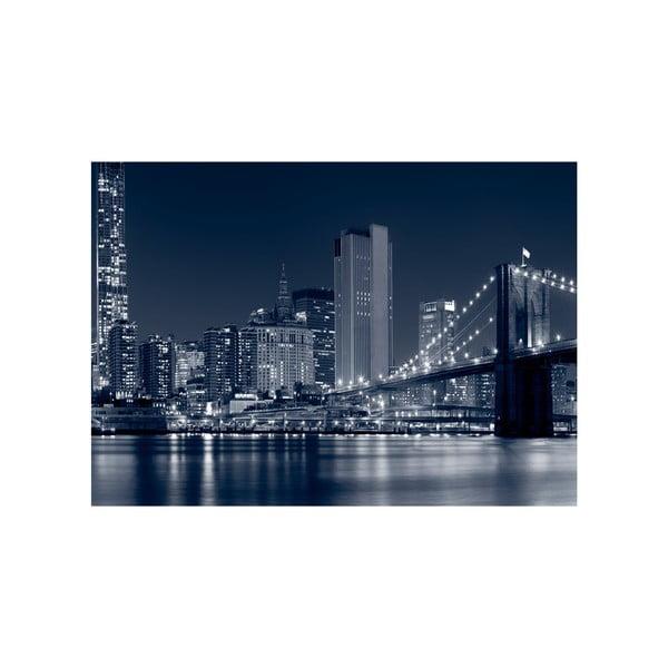 Obraz Nočné veľkomesto, 100x70 cm