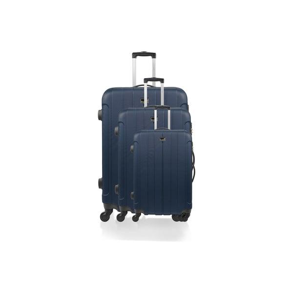 Sada 3 kufrov Loisa, modrá