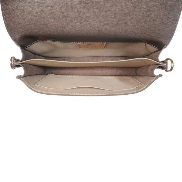 Kožená menšia kabelka Moon Taupe