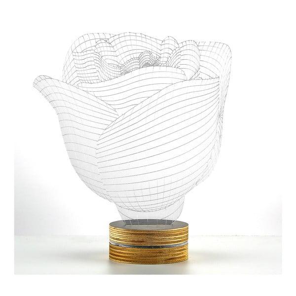 3D stolová lampa Rose
