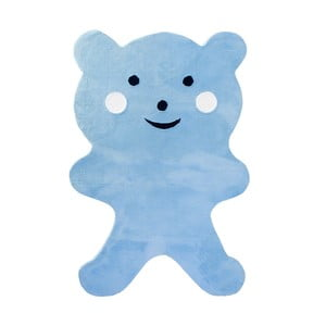 Detský koberec Mavis Teddy Bear Blue, 100x150 cm