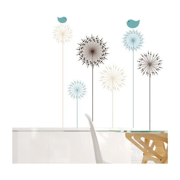 Dekoratívna samolepka Kvety