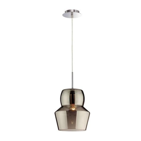 Stropné svietidlo Evergreen Lights Glass Gray, 22 cm